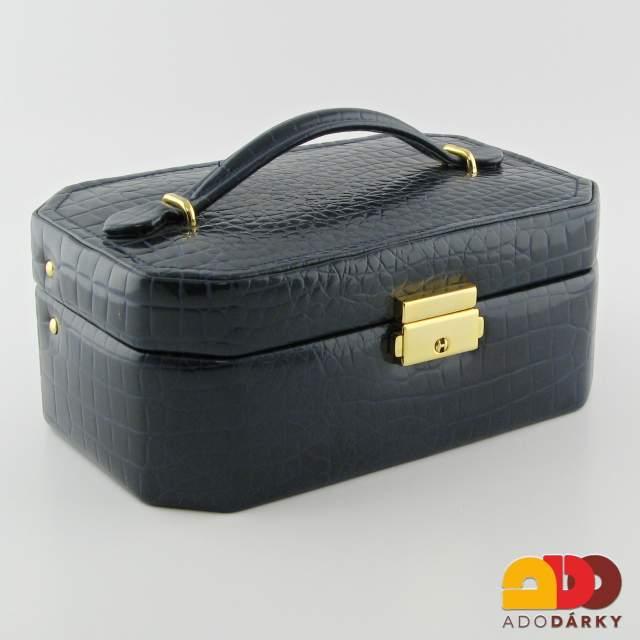 Kufřík na šperky modrý   ADO dárky - e-shop s dárky pro každého