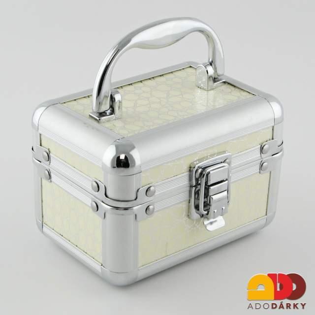 Kufřík na šperky 13 x 9 x 9 cm   ADO dárky - e-shop s dárky pro každého