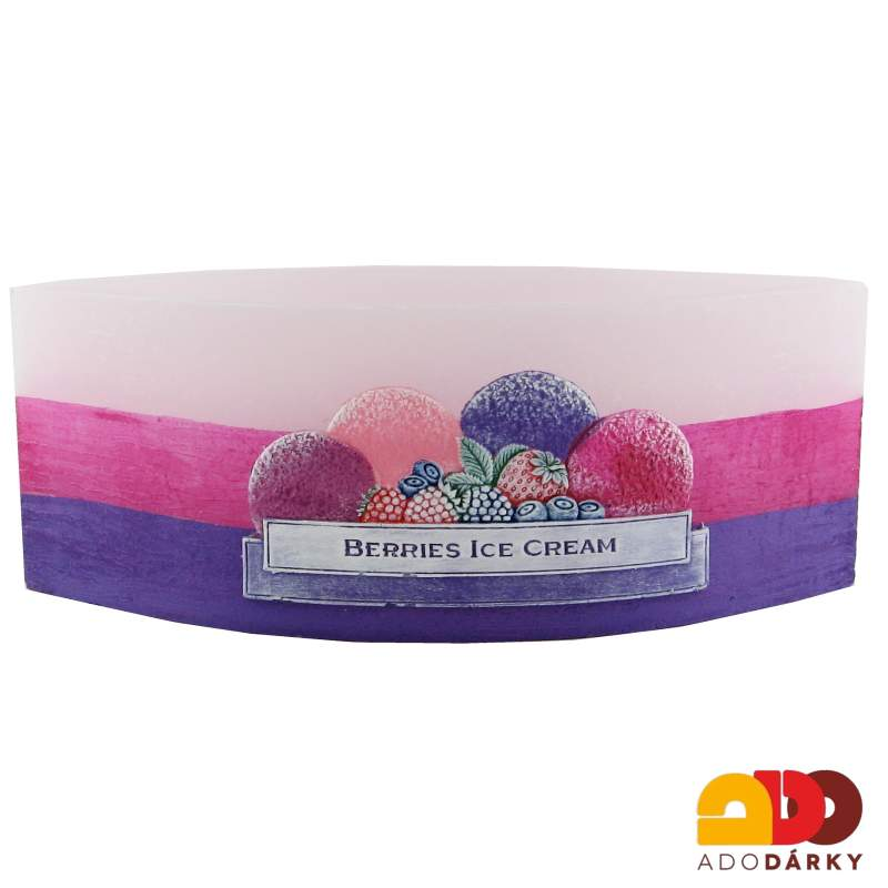 "Lampion loďka ""Berries Ice Cream"""