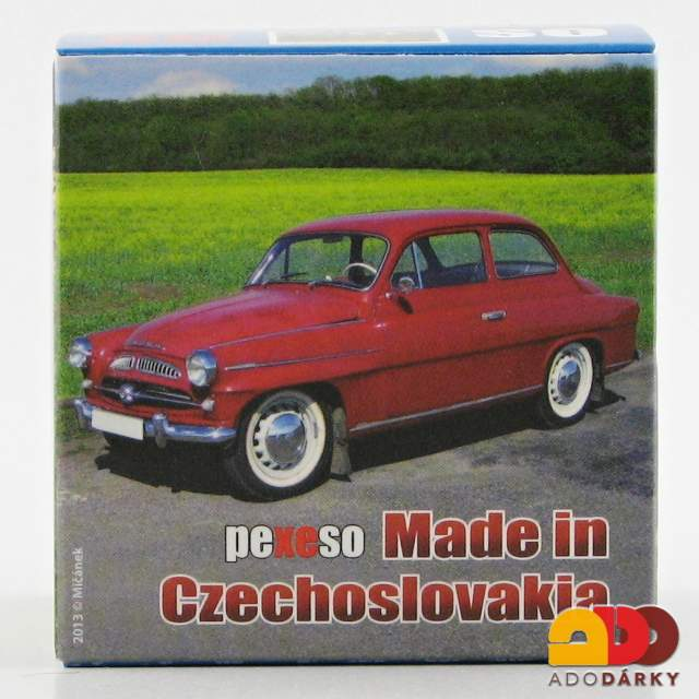 Pexeso - Made in Czechoslovakia