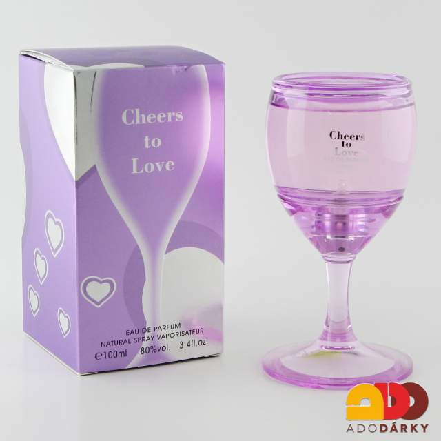 "Dámský parfém ""Cheers to love"" 100 ml"