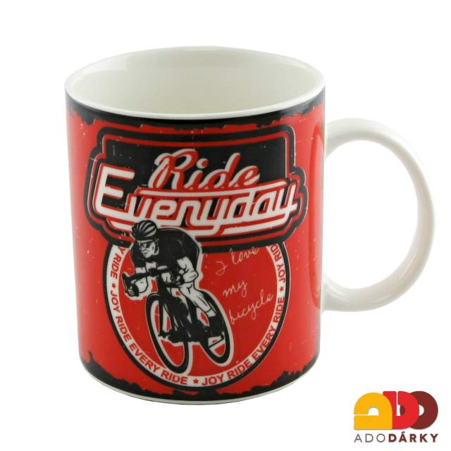 "Hrnek ""Ride everyday"" 350 ml"